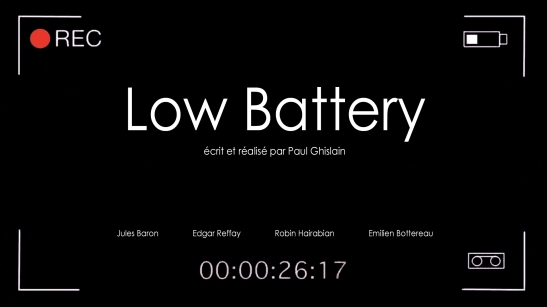 Low Battery paysage